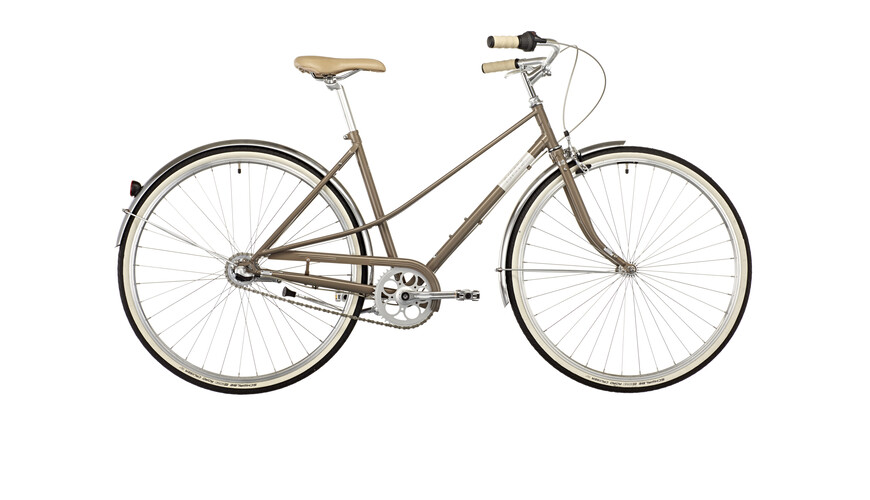 Creme Caferacer Uno Lady 3-speed warm grey